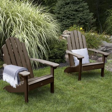 Highwood USA Classic Westport Adirondack Chair in Weathered Acorn (Set of 2), , large