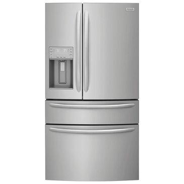 Frigidaire Gallery 21.8 Cu. Ft. Counter Depth 4-Door French Door Refrigerator in Stainless Steel , , large