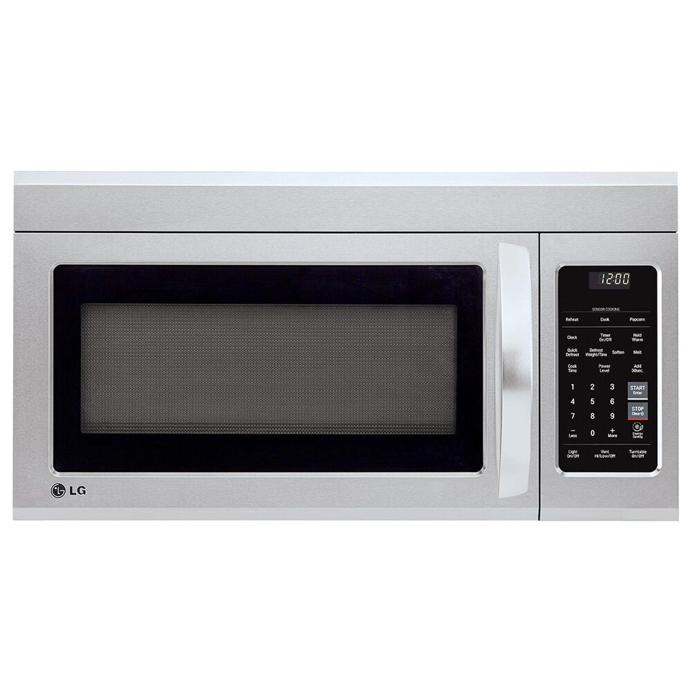 LG 2-Piece Kitchen Package with 7.3 Cu. Ft. Electric Double Oven Range and 1.8 Cu. Ft. Microwave Oven EasyClean in Stainless Steel, , large