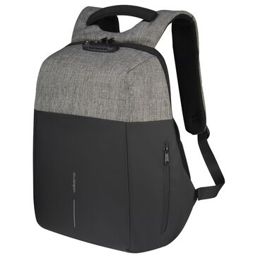 """Volkano Smart Deux 15.6"""" Laptop Backpack in Grey and Black, , large"""