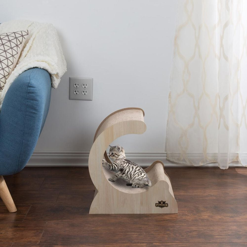 Timberlake Petmaker Cat Scratching Post Incline, , large