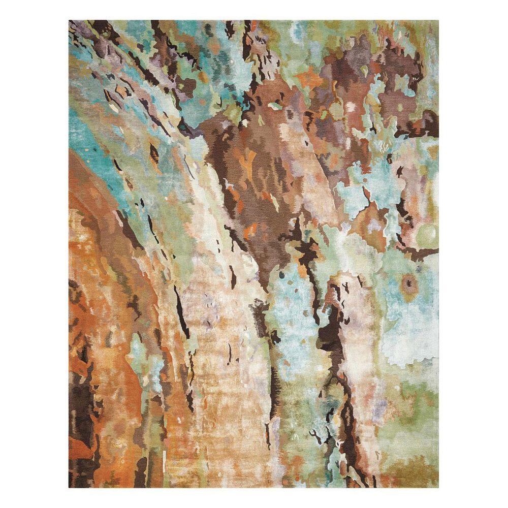 """Nourison Prismatic PRS09 5""""6"""" x 7""""5"""" Multicolor Area Rug, , large"""