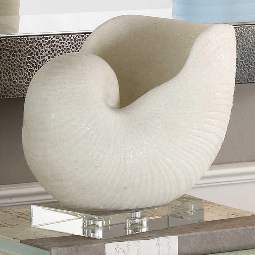 Uttermost Nautilus Shelle Sculpture, , large