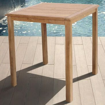 International Home Miami Eden Bar Table in Light Brown, , large