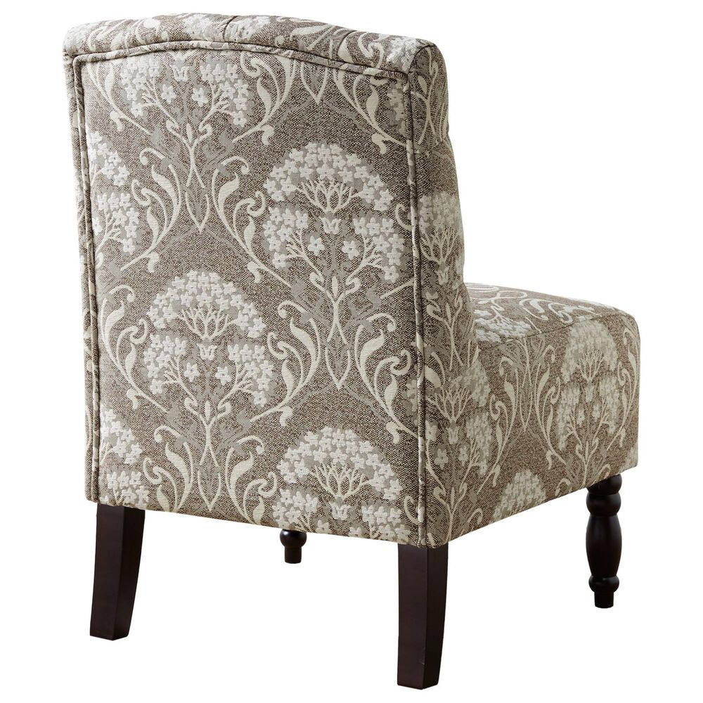 Hampton Park Lola Armless Chair in Taupe, , large