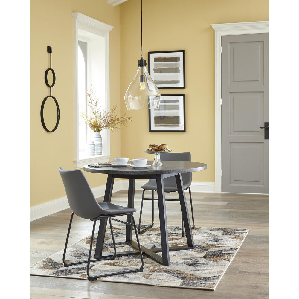 Signature Design by Ashley Centiar Side Chair in Gray (Set of 2), , large