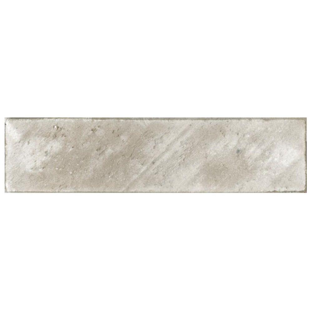 "Soci Brickwork Grey 10"" x 40"" Porcelain Tile, , large"