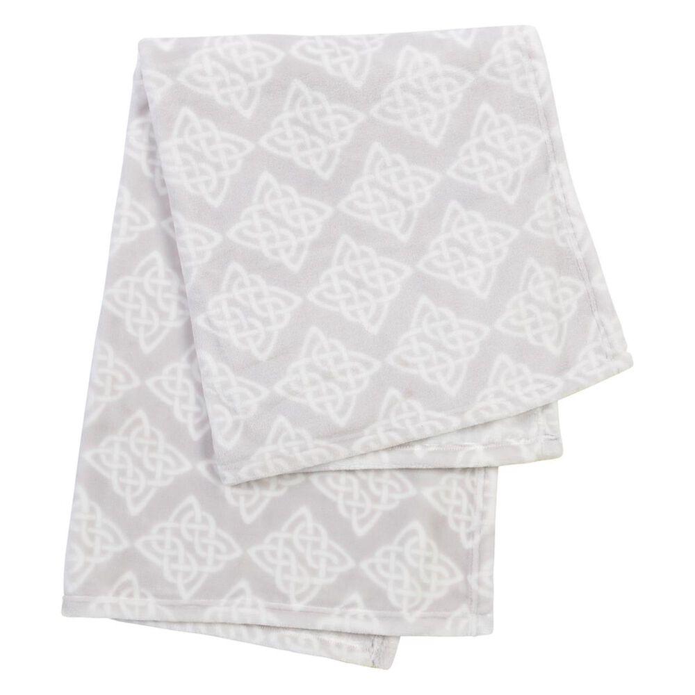 Trend Lab LLC Celtic Knot Plush Baby Blanket, , large