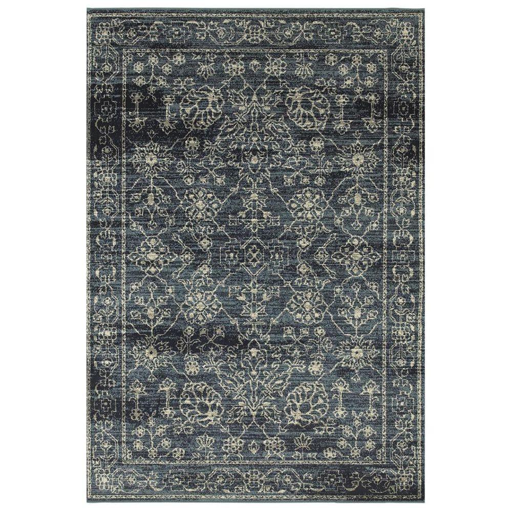 """Oriental Weavers Linden 7804D 7'10"""" x 10'10"""" Navy Area Rug, , large"""