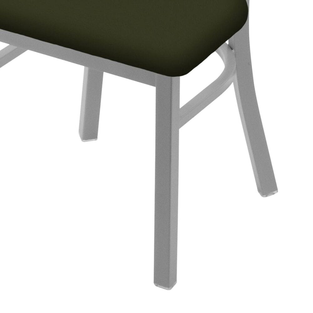 """Holland Bar Stool 620 Catalina 18"""" Chair with Anodized Nickel and Canter Pine Seat, , large"""