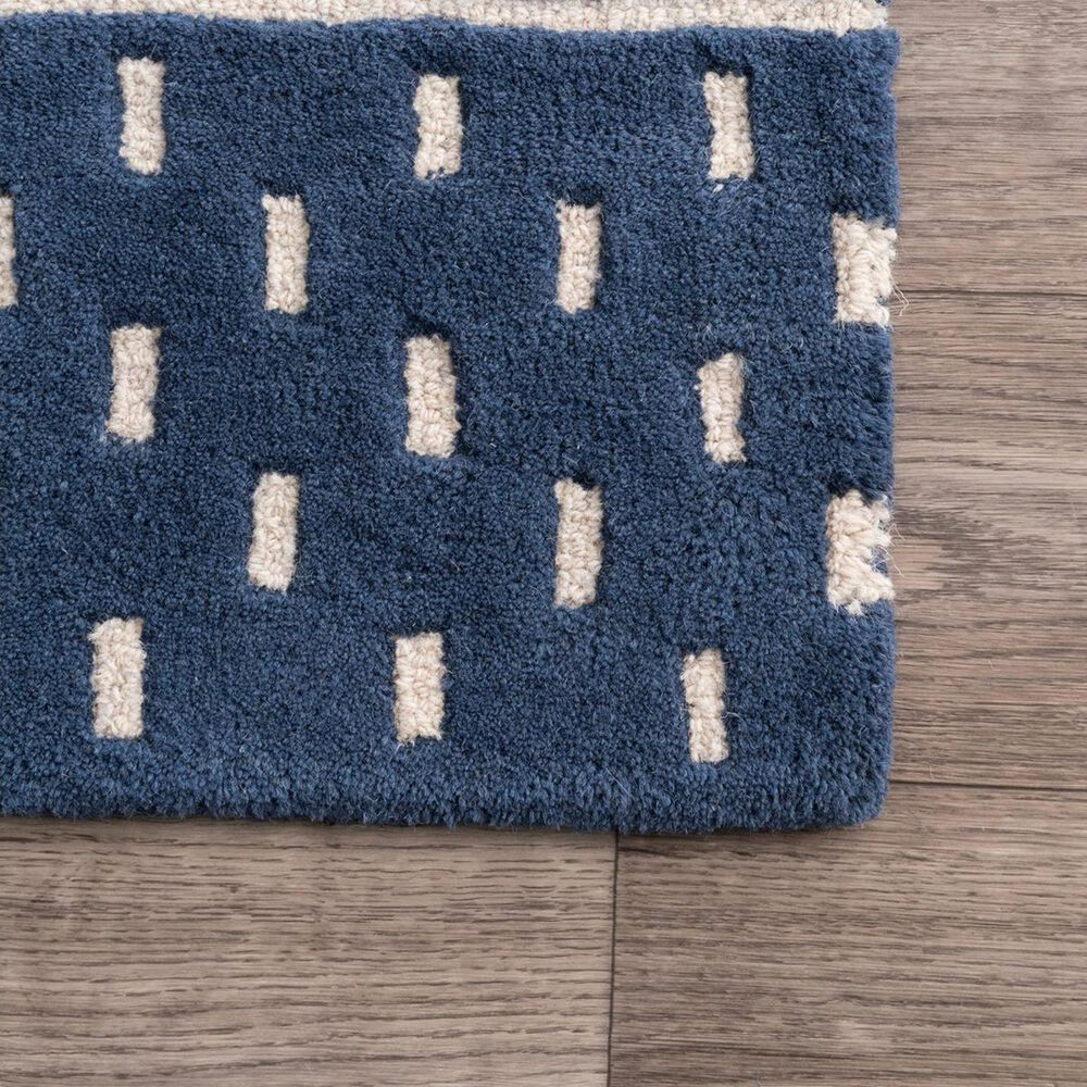 nuLOOM Nora MTNR01A 4' x 6' Navy Area Rug, , large