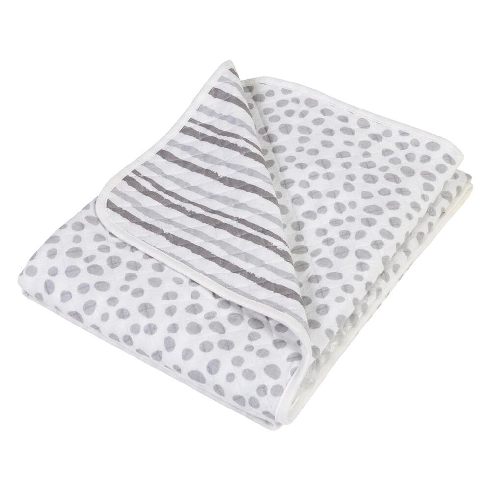 Trend Lab LLC Gray Cloud Knit Blanket, , large
