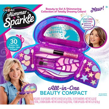 Cra-Z-Art Shimmer n Sparkle All In One Beauty Compact, , large