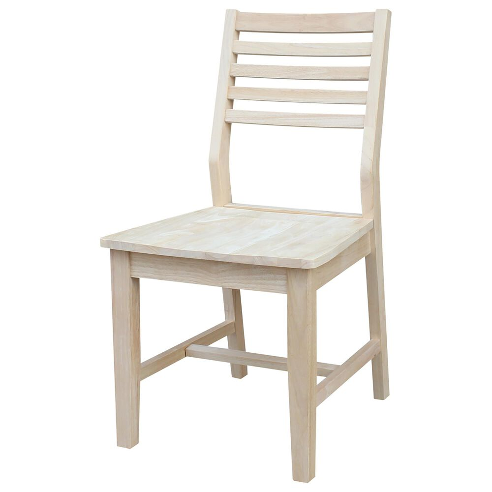 International Concepts 3-Piece Dining Set in Unfinished, , large