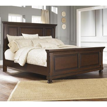 Millennium Porter Queen Panel Bed in Rustic Brown, , large