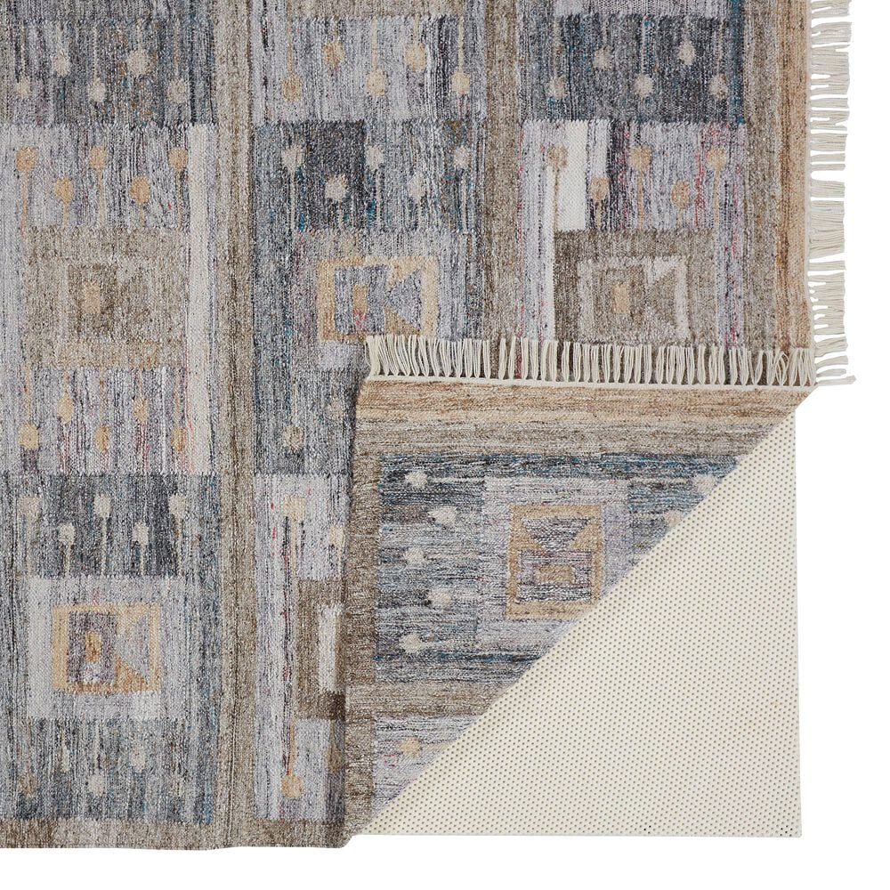 "Feizy Rugs Beckett 0816F 3'6"" x 5'6"" Charcoal Area Rug, , large"