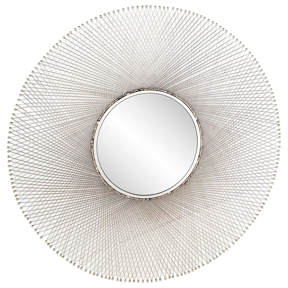 """Maple and Jade 45"""" Wall Mirror in Grey, , large"""