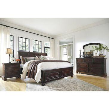 Millennium Porter 4-Piece Queen Bedroom Set in Burnished Brown, , large