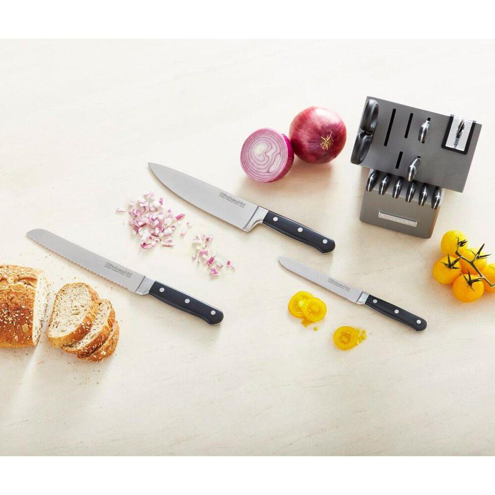 KitchenAid Classic Forged 14-Piece Triple Rivet Cutlery Set, , large