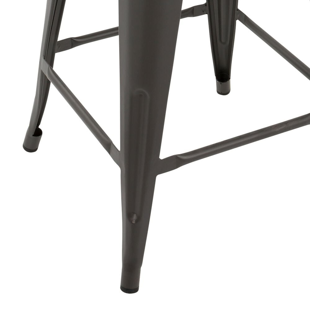 Lumisource Oregon Counter Stool in Grey/Brown (Set of 2), , large