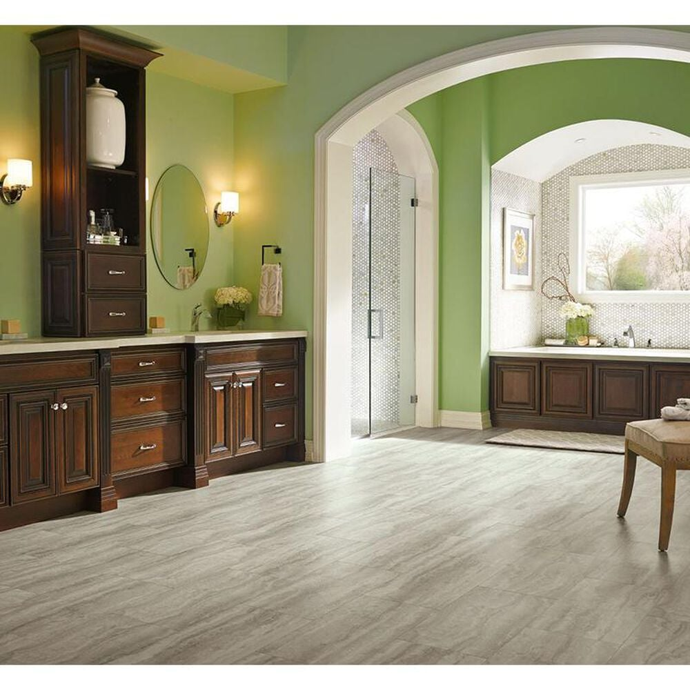 """Armstrong Piazza Travertine Dovetail 12"""" x 24"""" Luxury Vinyl Plank, , large"""