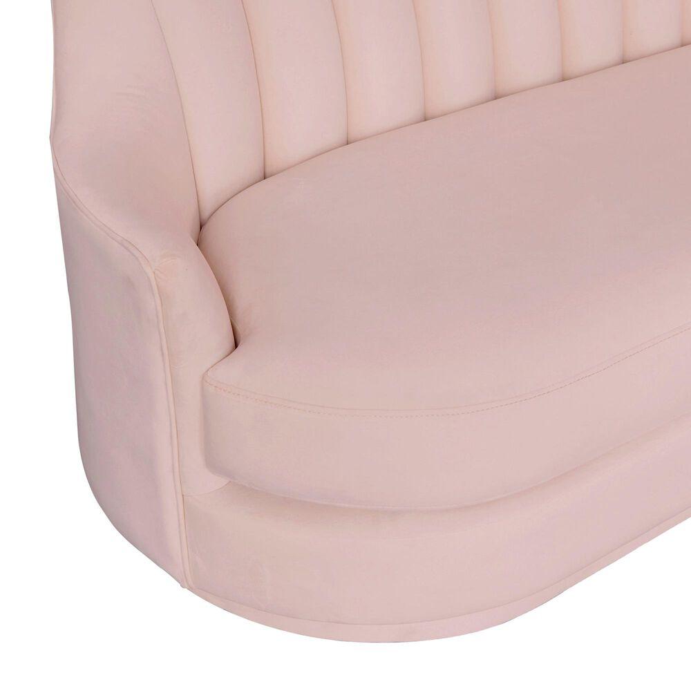 Tov Furniture Peyton Sofa in Blush Velvet, , large