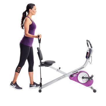 ProForm X-Bike Duo Convertible Upright and Recumbent Bike in Purple, , large