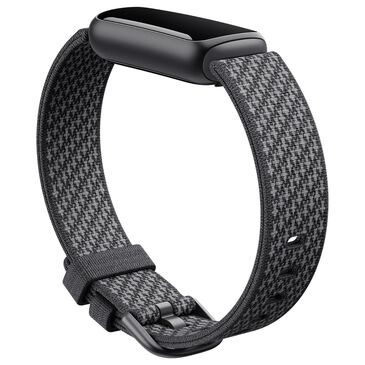 Fitbit Luxe Woven Band Large in Slate, , large