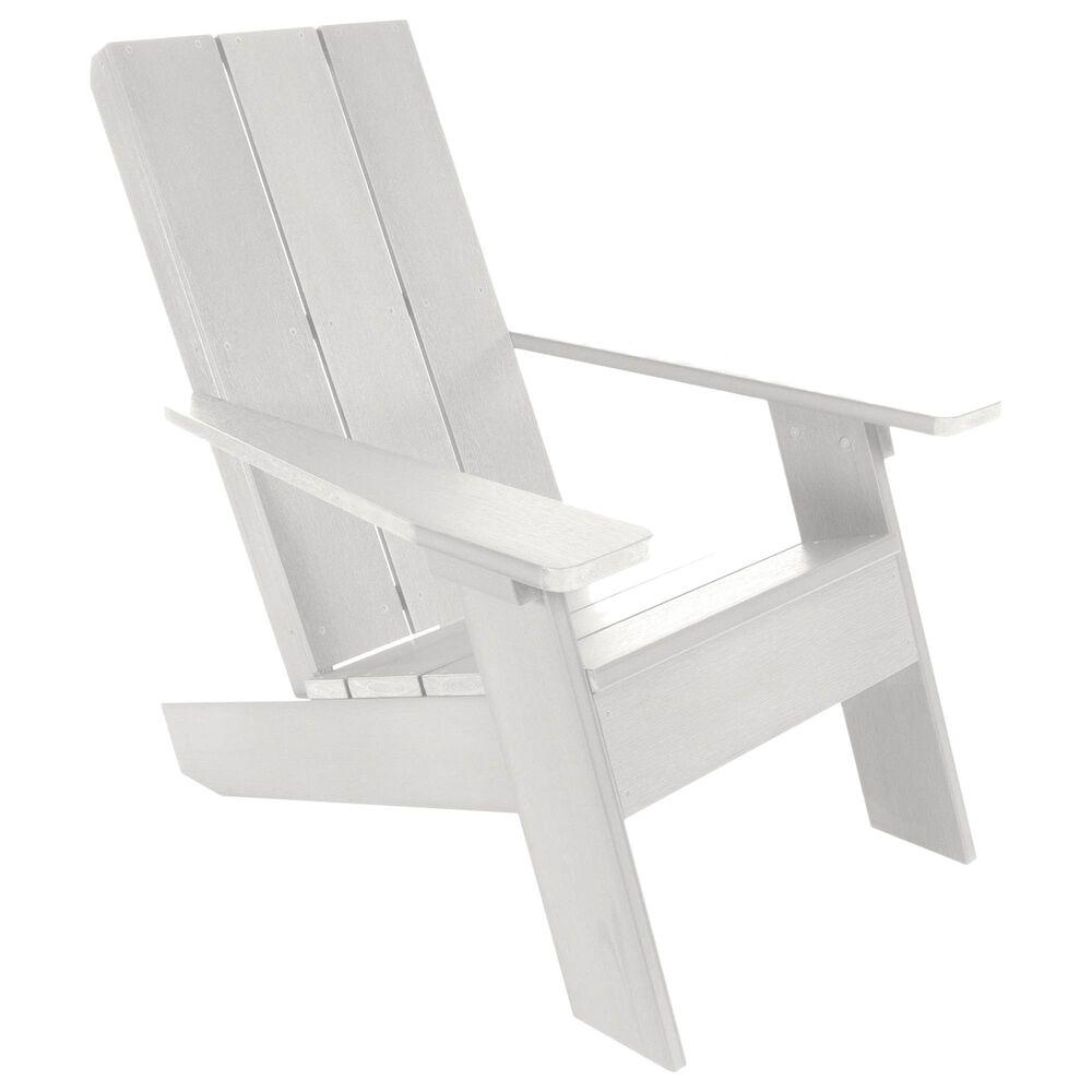 Highwood USA Italica Modern Adirondack Chair in White, , large