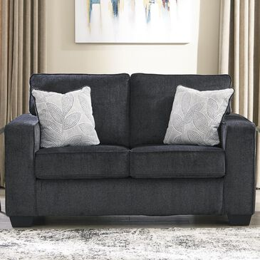 Signature Design by Ashley Altari Loveseat in Slate, , large