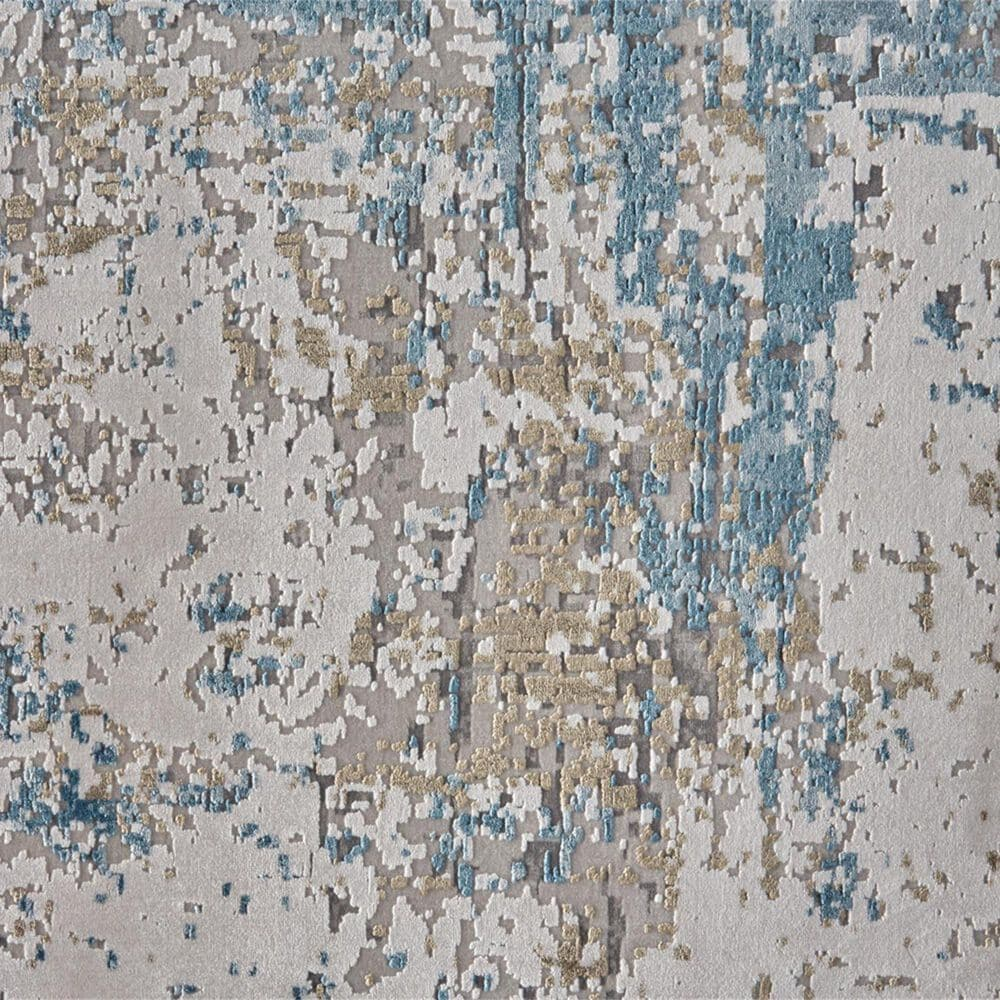 """Feizy Rugs Cadiz 3891F 9'9"""" x 13'2"""" Blue and Ivory Area Rug, , large"""