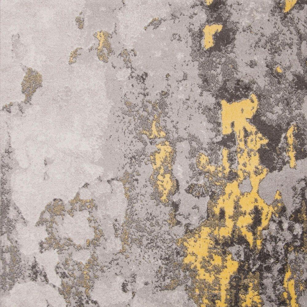 Safavieh Adirondack ADR134H 10' x 14' Grey and Yellow Area Rug, , large