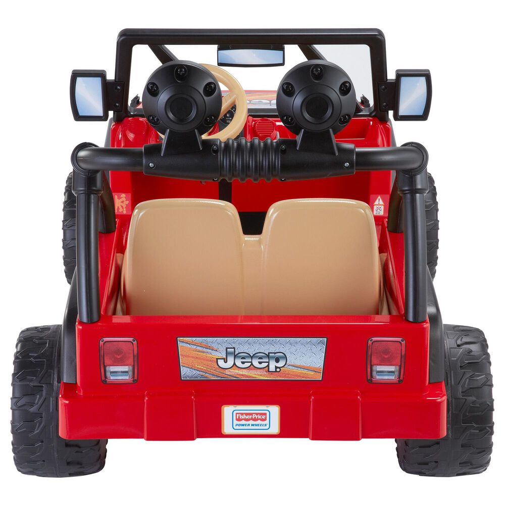Fisher-Price Power Wheels Jeep Wrangler, , large