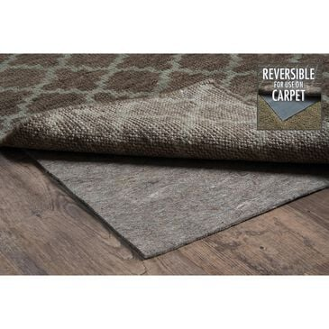 """Oriental Weavers Luxehold 0005E 7""""8"""" x 9""""8"""" Grey Rug Pad, , large"""