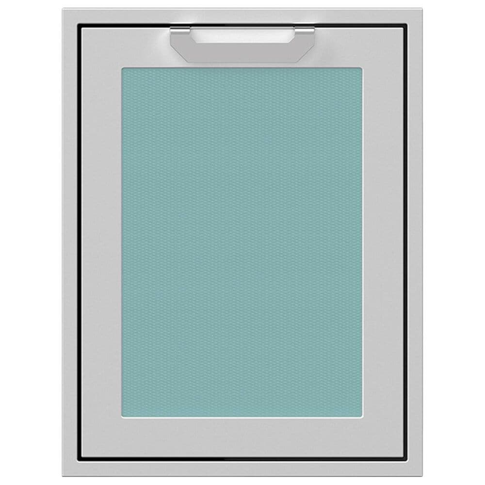 """Hestan 20"""" Trash and Recycle Center Storage Drawer in Turquoise, , large"""