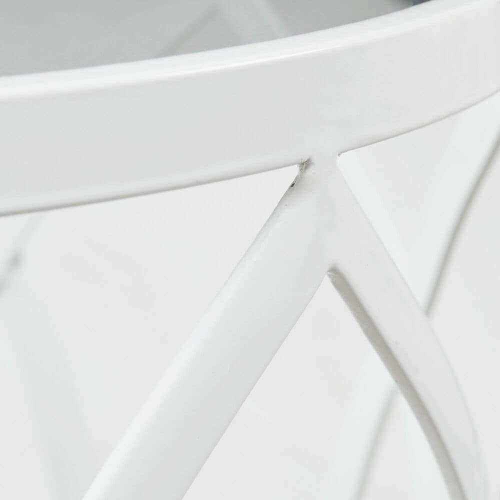 Hampton Park Arlo Accent Table in White, , large