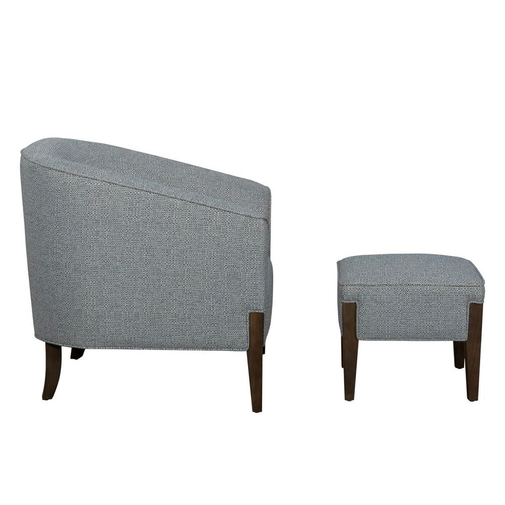 Trend Labs Sabrina Chair and Ottoman in Lake, , large