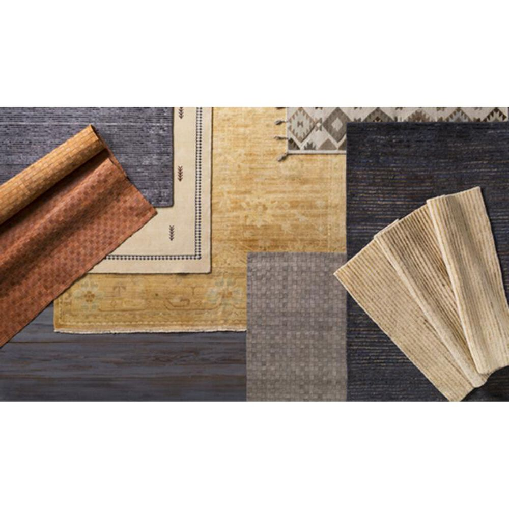 Surya Hillcrest HIL-9012 8' x 11' Cream, Tan, Brown and Rust Area Rug, , large