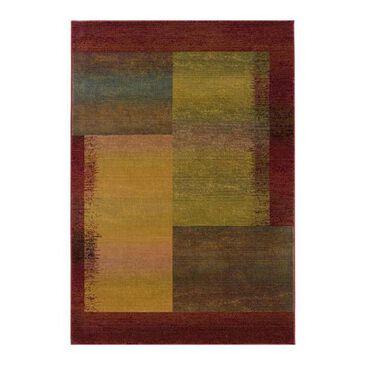 "Oriental Weavers Kharma II 1092W 2""3"" x 7""6"" Multi-Color Runner, , large"