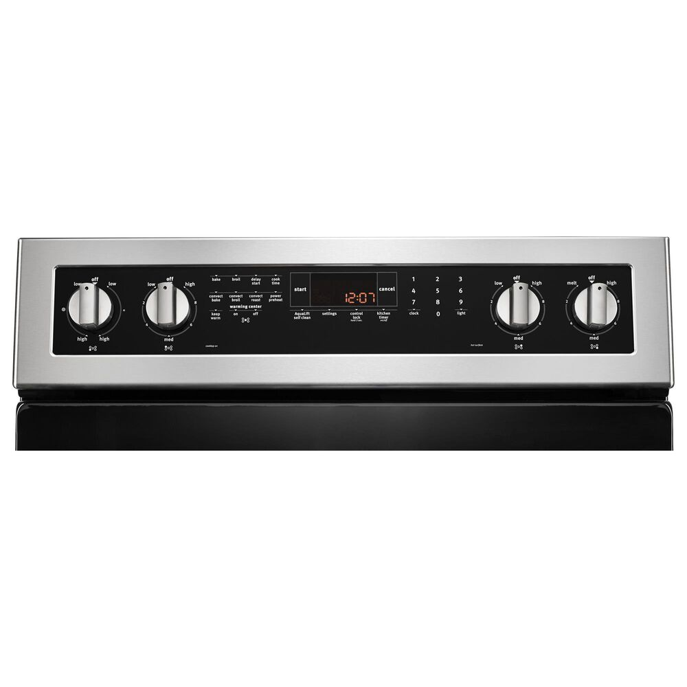 """Maytag 4-Piece Kitchen Package with 30"""" Electric Range in Stainless Steel, , large"""
