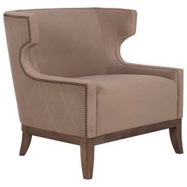 Bernhardt Emma Chair in Brown, , large