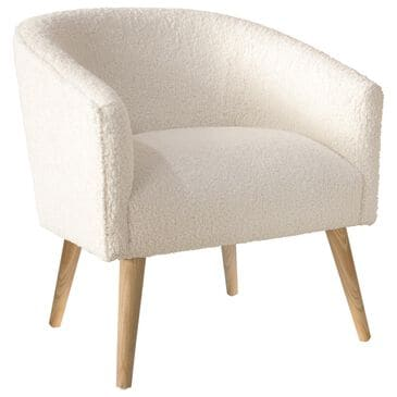 Skyline Furniture Printer's Row Chair in Sheepskin Natural, , large