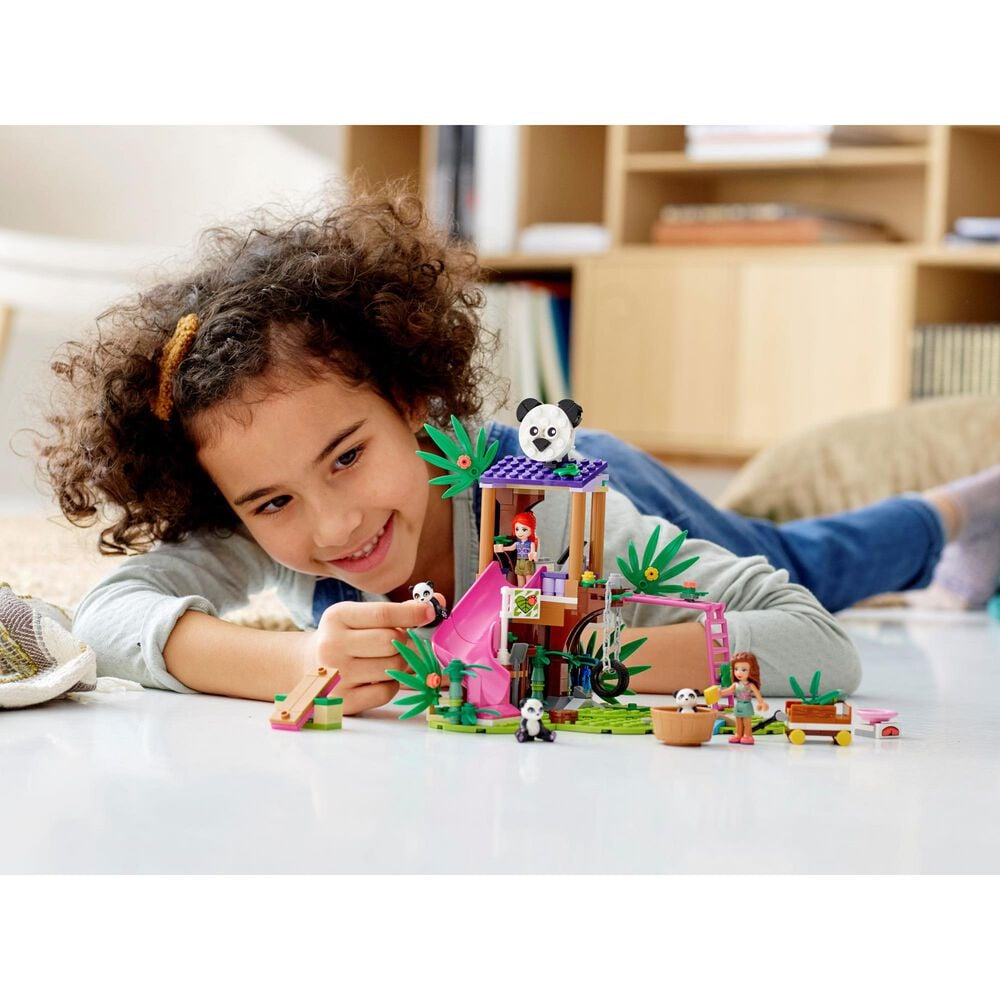 LEGO Friends Panda Jungle Tree House Building Set, , large