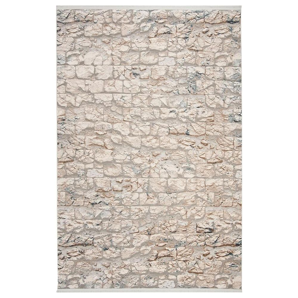 Safavieh Eclipse ECL185  4' x 6' Beige and Light Grey Area Rug, , large