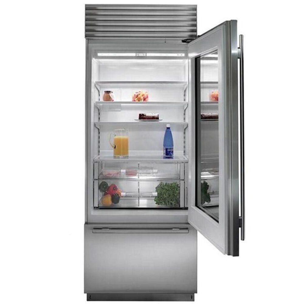 """Sub Zero 30"""" Wide Built-In Glass Door Bottom Freezer, , large"""