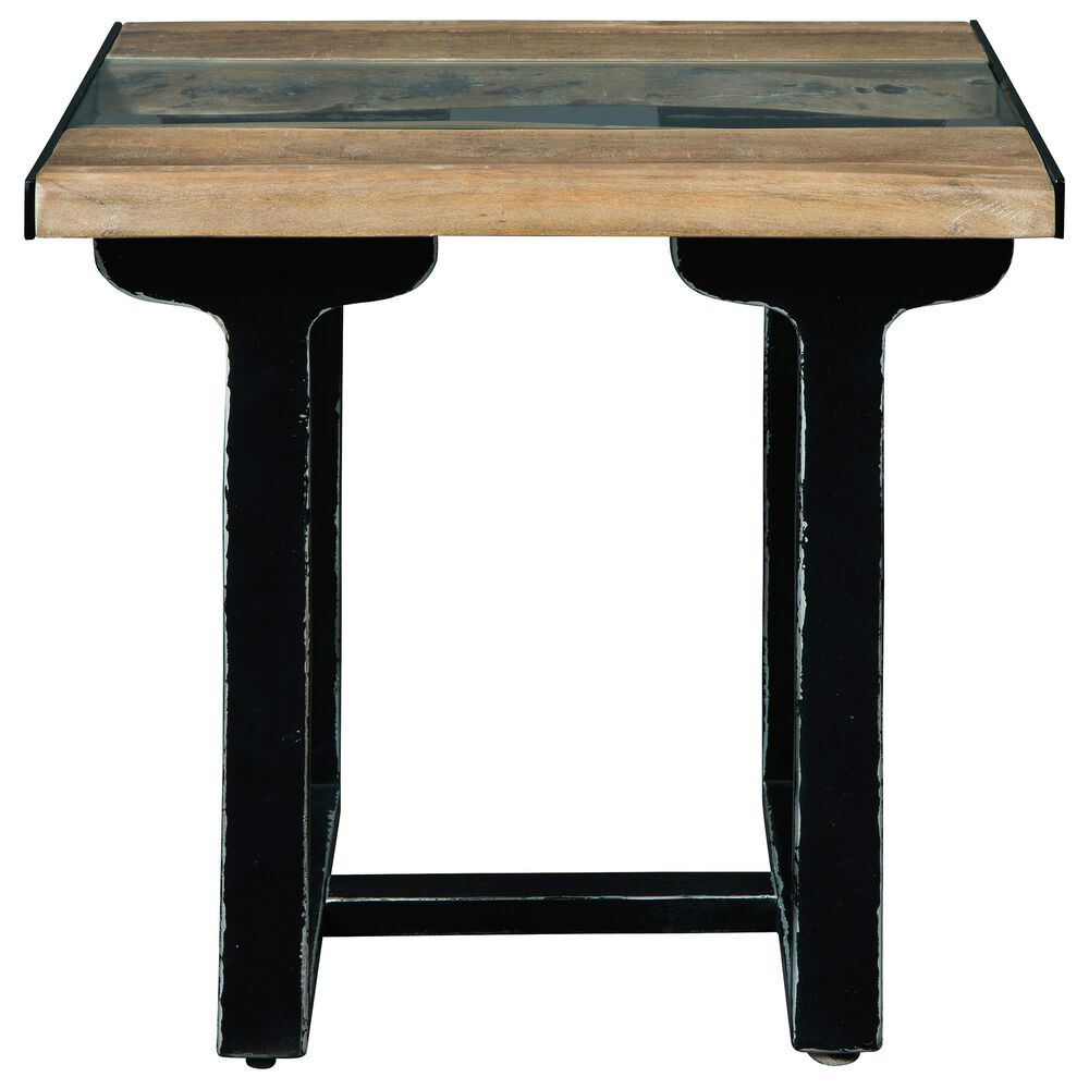 Signature Design by Ashley Calkosa End Table in Brown and Black, , large