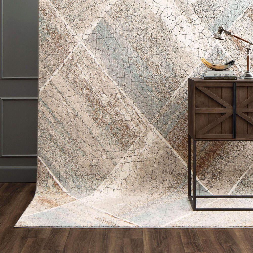 Karastan Epiphany Eloi 8' x 10' Dim Grey Area Rug, , large