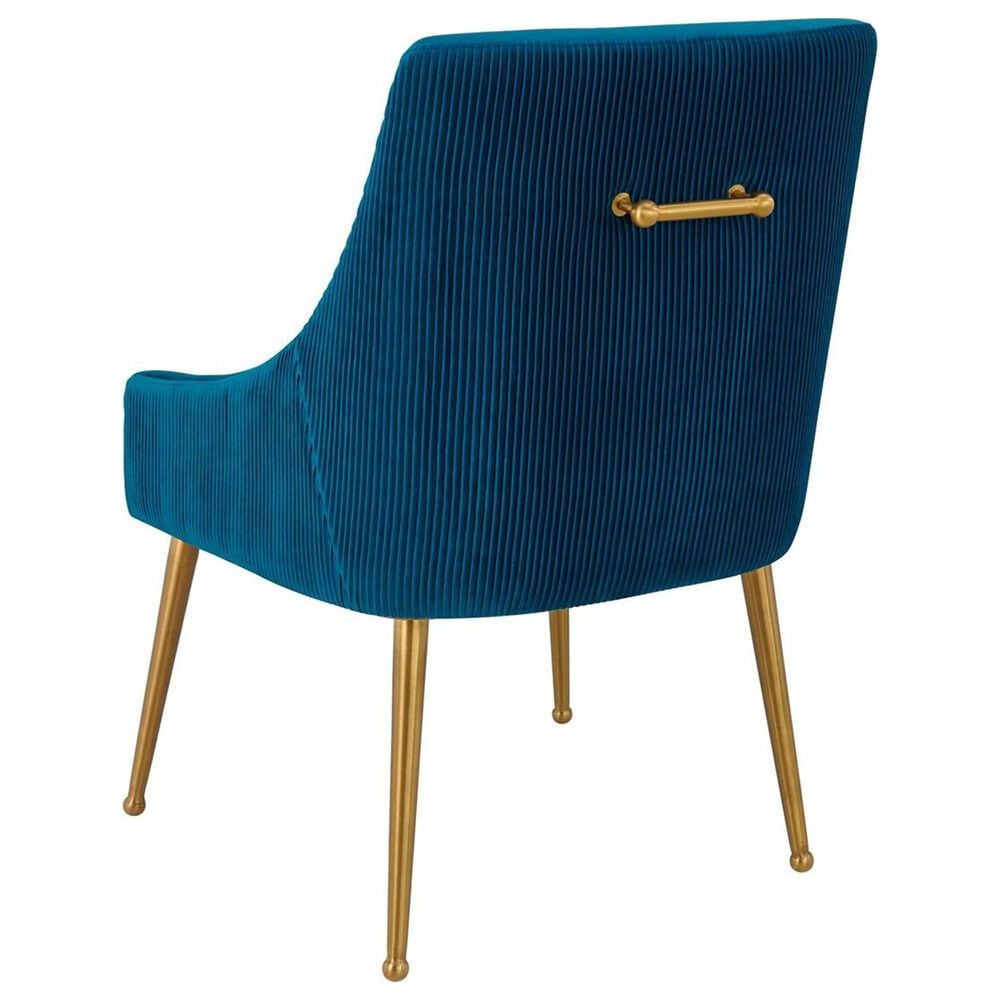 Tov Furniture Beatrix Side Chair in Navy, , large