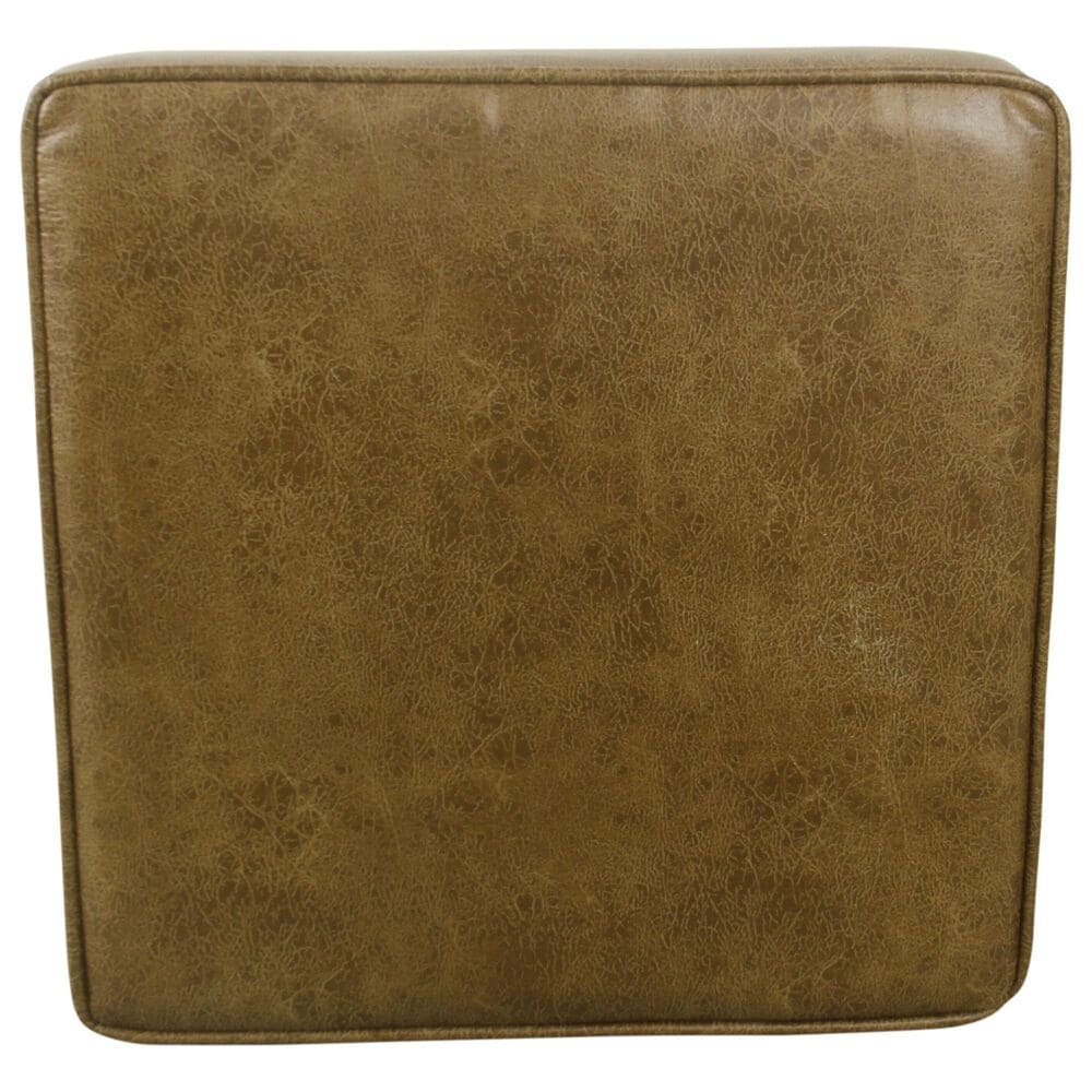 Kinfine Square Storage Ottoman with Lift Top in Light Brown, , large
