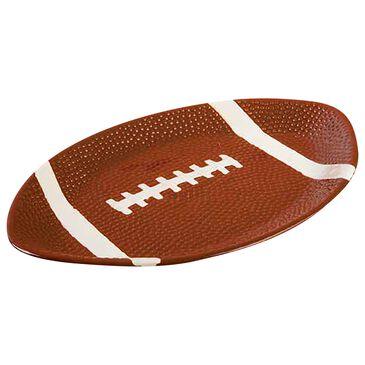 "Home Essentials & Beyond 17"" Football Shape Platter, , large"